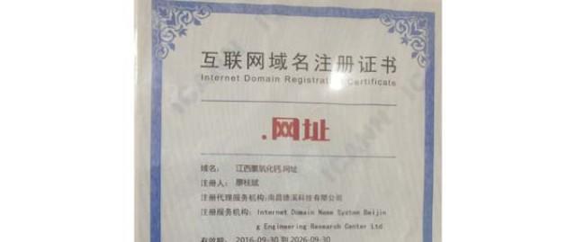 互联网域名证书